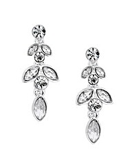 Jon Richard Crystal Navette Earring