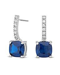 Jon Richard Crystal Sapphire Earring