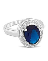 Jon Richard Cubic Zirconia Kate Ring