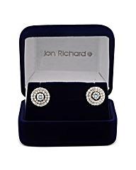 Jon Richard Cubic Zirconia Round Earring