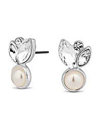 Alan Hannah Pearl Crystal Earring