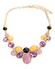 Pink & Orange Statement Necklace