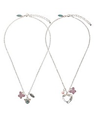Me To You Mum and Daughter Necklace Set