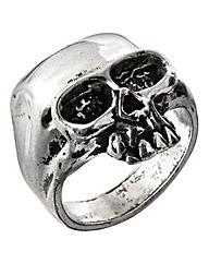 Alchemy Gothic Death Skull Ring
