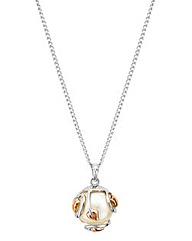 Clogau Tree of Life Caged Pearl Pendant