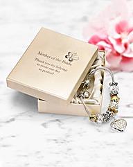 Wedding Gift Heart Bracelet
