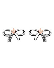 Clogau Tree of Life Bow Earrings