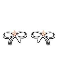Clogau Tree of Life Bow Earrings