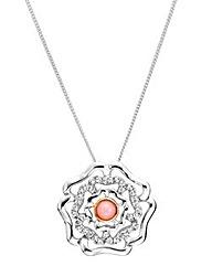 Clogau Tudor Rose Pendant