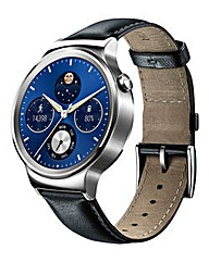 W1 Classic SmartWatch with Leather Strap