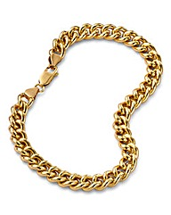 1oz Rolled Gold Curb Bracelet