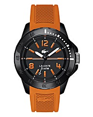 Lacoste Mens Fidji Orange Strap Watch