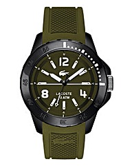 Lacoste Mens Fidji Olive Strap Watch