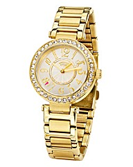 Juicy Couture Gold-tone Bracelet Watch