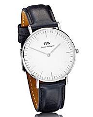 Daniel Wellington Sheffield Silver Watch