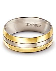 Gents Titanium Ring
