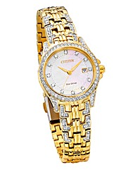 Citizen Eco-Drive Ladies Gold-tone Watch