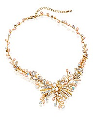 Alan Hannah Rose Gold Pearl Necklace