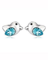 Spangles Swarovski Crystal Bird Earrings