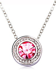 Spangles Crystal Solitaire Pendant