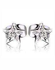 Spangles Crystal Star Stud Earrings
