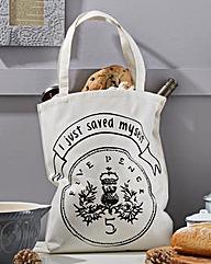 I Just Saved 5p Tote Bag