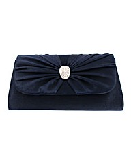 Bow Front Mini Clutch Evening Bag