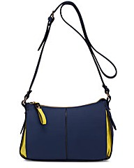 Paris - East- West Zipped Cross Body