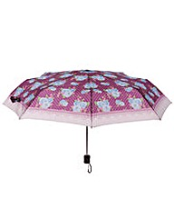 Handy Umbrella - Dark Purple Chintz