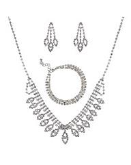 Mood Three Piece Diamante Set