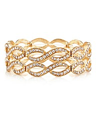 Mood Crystal Lattice Stretch Bracelet