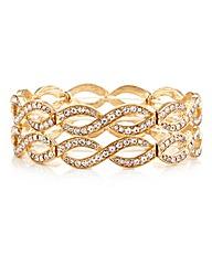 Mood Crystal Lattice Stretch Bracelet