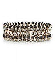 Mood Crystal Bead Stretch Bracelet