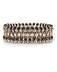 Mood Crystal Bead Stretch Bracelet