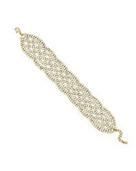 Mood Crystal Lattice Style Bracelet