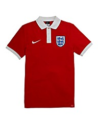 Nike Red England Match Up Polo