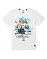 Jacamo Baker Graphic T-Shirt Long