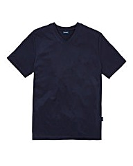 Southbay Unisex Navy V Neck T-Shirt