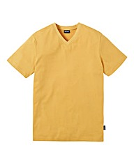 Southbay Unisex Gold V Neck T-Shirt