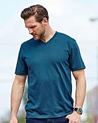 Southbay Unisex Teal V Neck T-Shirt