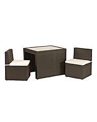 Cannes Cube 2 Seater Breakfast Set