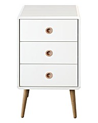 Calico One Drawer Side Table