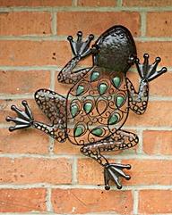 Jewelled Frog Wall Art