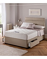 Silentnight Divan Set with 2 Drawers