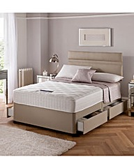 Silentnight Divan Set with 4 Drawers