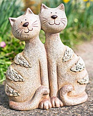 Resin Double Cats