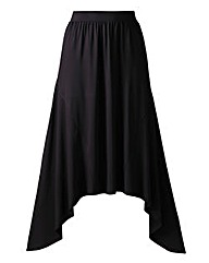 Hanky Hem Jersey Skirt