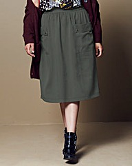 Simply Be Deep Pocket A Line Skirt