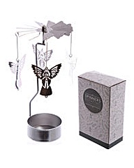 Spinning Tea Light Holder - Angel