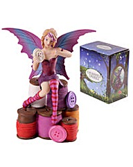 Collectable Sewing Fairy Figurine